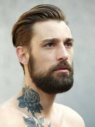 the best undercut hairstyle best undercut hairstyle with beard fade haircut