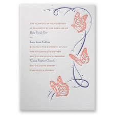 Size Invitation Card Wedding Invitations Butterfly Wedding Invitations Templates Cute