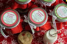 christmas cookies in a jar nurse loves farmer