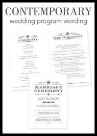 wedding program wording etiquette wedding program etiquette 2018 weddings