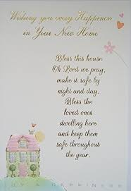 wishing you every happiness in your new home card religious