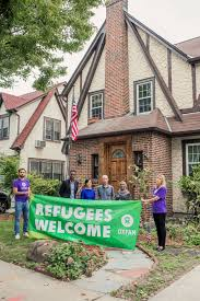 trump u0027s childhood home becomes crash pad for refugees after oxfam