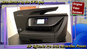 hide printer item review hp officejet pro 6960 all in one printer youtube