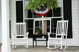 front porch heavenly ideas for front porch decoration using white
