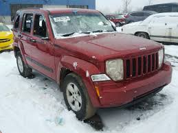 red jeep liberty 2010 1j4pn2gk6aw109557 2010 red jeep liberty sp on sale in mi detroit