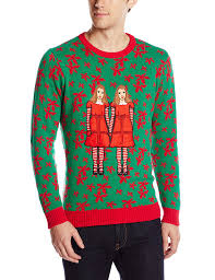 blizzard bay men u0027s terrifying twins ugly christmas sweater at