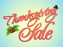 poster banner or flyer for happy thanksgiving day sale royalty