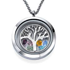 floating pendant necklace images Family tree floating locket mynamenecklace jpg
