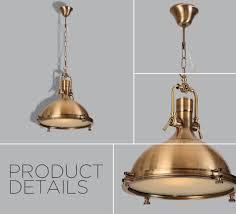 Antique Brass Pendant Light China Metallic Industrial Antique Brass Pendant L For