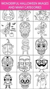 scary halloween coloring pages u2013 sugar skulls free app