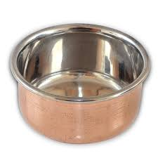 designer tableware copper serving bowl set of 6 indian utensils