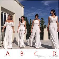 2017 unique bridesmaid dresses floor length long bridesmaid pant