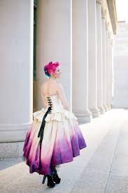 ombré wedding dress ombre wedding dress steunk fairytale gown moon fairy