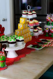 it u0027s the life super mario birthday cake table