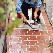 Concrete Faux Paint - 88 quick and easy decorative upgrades face lifting walkways and