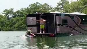amphibious rv winnebago boat adventure travel channel