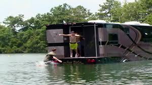 amphibious rv winnebago boat adventure travel channel