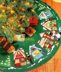 bucilla s wreath 42 felt tree skirt kit 85466