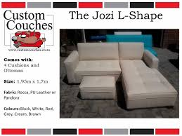 showroom open today at custom couches the jozi l shape r3950