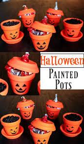halloween painted pots paint pots halloween fun and diy halloween