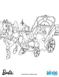 barbie horse coloring pages free printable barbie coloring pages