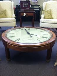 Clock Coffee Table Howard Miller Clock Coffee Table In A Solid Oak Base Priced On The