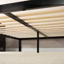 Modern Queen Platform Bed Platform 1000 Metal Bed Frame Mattress Foundation Zinus