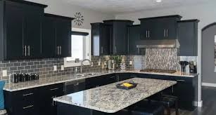 what color appliances go with black cabinets popular kitchen cabinet colors of 2020 superior shop drawings