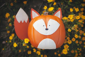 pumpkin decoration images woodland creature no carve pumpkins