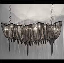 New Chandeliers Postmodern Italy New Design Terzani Chandelier Lighting Silver