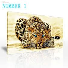 wholesale sell modern wall painting animal the cheetah leopard