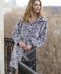 robe de chambre canat femme robe de chambre zebra 2 canat collection nuit et intérieur