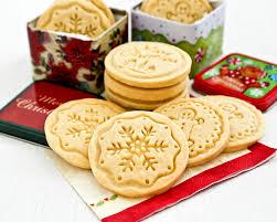 shortbread stamped cookies roti n rice