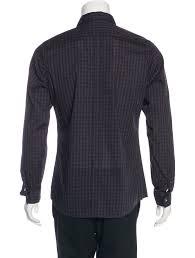gucci plaid dress shirt clothing guc163946 the realreal