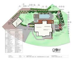 Landscape Floor Plan by Landscape Design Plan View Drawings Growlandscapes Com