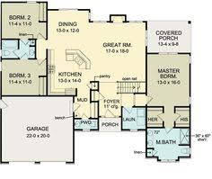 house plans with basement garage floor plan of ranch house plan 54066 move garage back 2