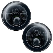 jeep black headlights oracle lighting 5769 504 wrangler jk headlight led dual projector