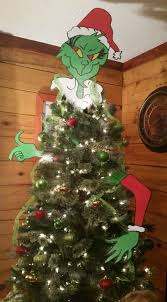 grinch christmas tree christmas tree topper ideas the grinch stealing your christmas