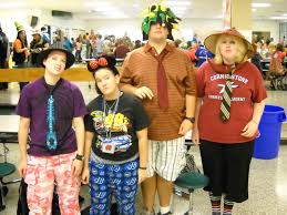 tempe spirit halloween store west iredell high wacky tacky day senior year