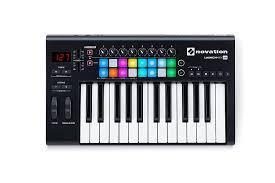 amazon com novation launchkey 25 usb keyboard controller for
