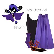 Raven Halloween Costume Raven Teen Titans Polyvore