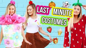 interactive halloween costumes diy last minute halloween costumes laurdiy youtube