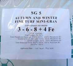 new 20kg sack proctors autumn u0026 winter feed iron to kill moss