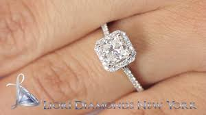 princess cut engagement rings with halo er sold 117 1 31 carat g si2 princess cut engagement