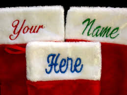 Personalized Pictures With Names Amazon Com Personalized Christmas Stockings Custom Name
