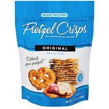 pretzel delivery kroger pretzel crisps original deli style pretzel crackers delivery