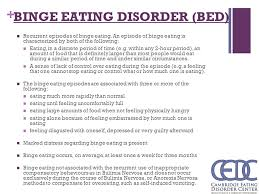Bed Eating Disorder Overview Of Eating Disorders Ppt Video Online Download