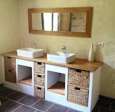 faire un meuble de cuisine meuble de salle de bain avec meuble de cuisine panneau renovation