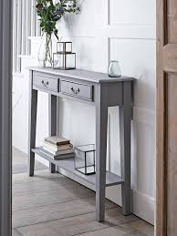 Grey Console Table Beautiful Narrow Console Table Uk With Grey Console Table Chene