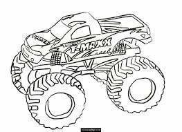 fire engine colouring coloring 3 monster truck coloring